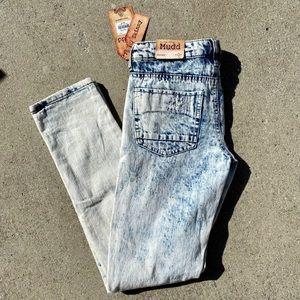 Mudd Acid Wash Distressed Jeans